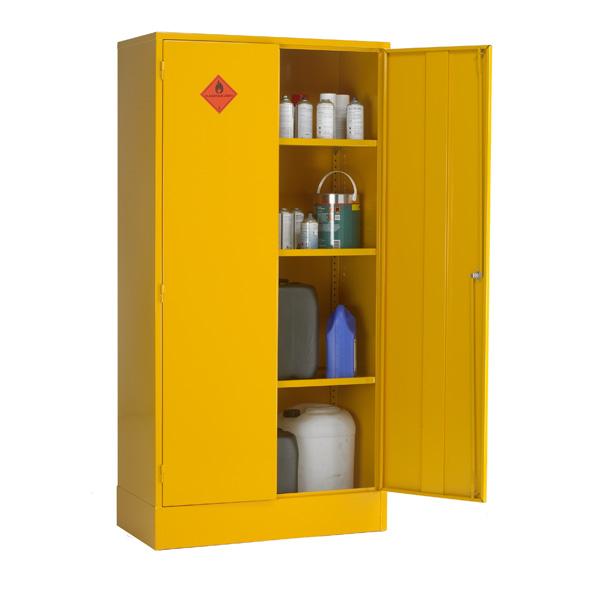 Double Door Cabinet Storage: CB8F Double Door Flammable Storage Cabinet