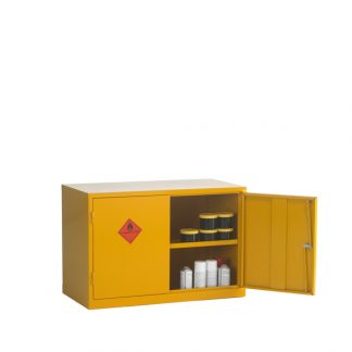 CB17F Double Door Flammable Cabinet