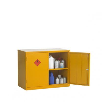 CB4F Double Door Flammable Cabinet