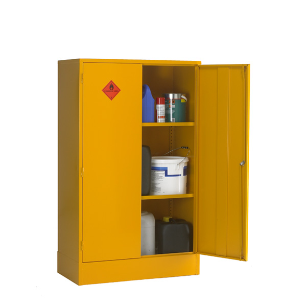 Cb7f Double Door Flammable Storage Cabinet Sc Cabinets