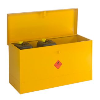 CB10F Large Flat Flammable Liquid Storage Bin