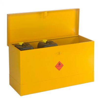 CB10F Large Flat Flammable Liquid Storage Bin