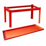 Pesticide Shelves and Cabinet Stands